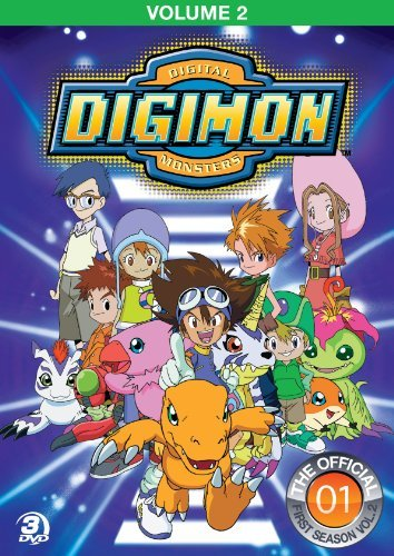 Digimon Adventure Vo. 2 Nr 3 DVD