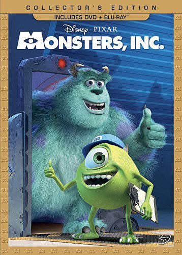 Monsters Inc Monsters Inc Ws G Incl. Blu Ray