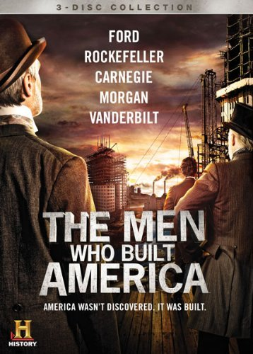 Men Who Built America Men Who Built America Ws Tvpg 3 DVD