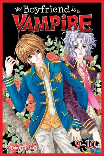 Yu Rang Han My Boyfriend Is A Vampire Book 9 & 10