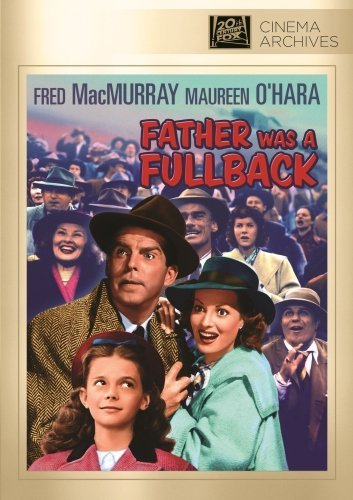 Father Was A Fullback Macmurray O'hara Lynn Vallee Made On Demand Nr