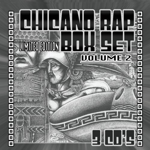 Chicano Rap Box Vol. 2 Chicano Rap Box Explicit Version 3 CD
