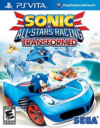 Playstation Vita Sonic & All Stars Racing Transformed