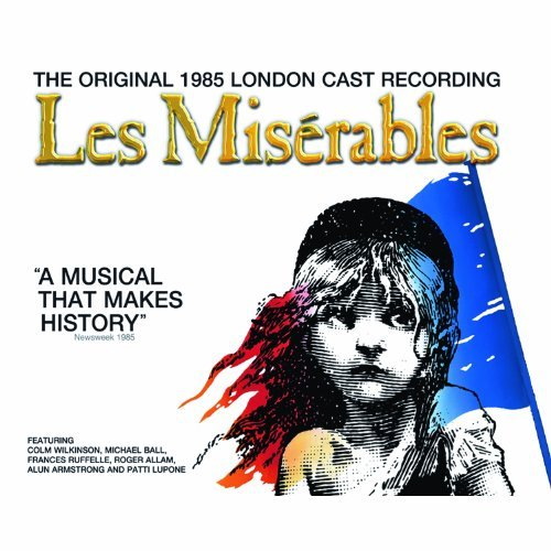 London Cast Les Miserables (1985) 2 CD Set
