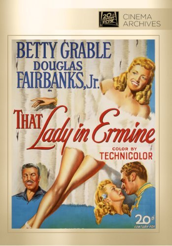 That Lady In Ermine Grable Fairbanks Romero Abel DVD Mod This Item Is Made On Demand Could Take 2 3 Weeks For Delivery