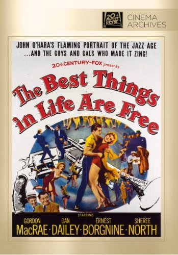 Best Things In Life Are Free Macrae North Borgnine Noonar DVD Mod This Item Is Made On Demand Could Take 2 3 Weeks For Delivery