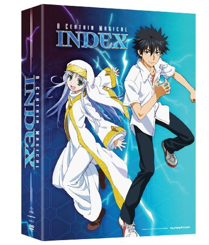 Certain Magical Index Season 1 Part 1 DVD Tv14