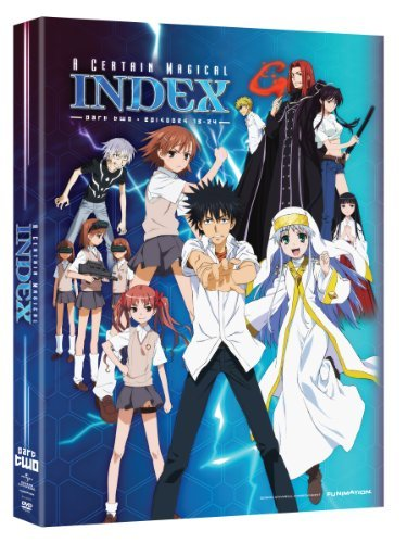 Certain Magical Index Season 1 Part 2 DVD Tv14