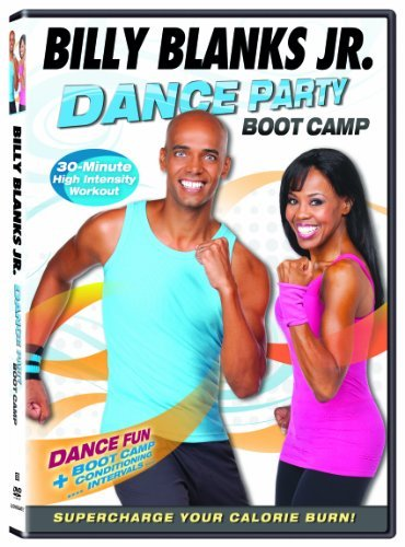 Billy Jr. Blanks Dance Party Boot Camp Ws Nr