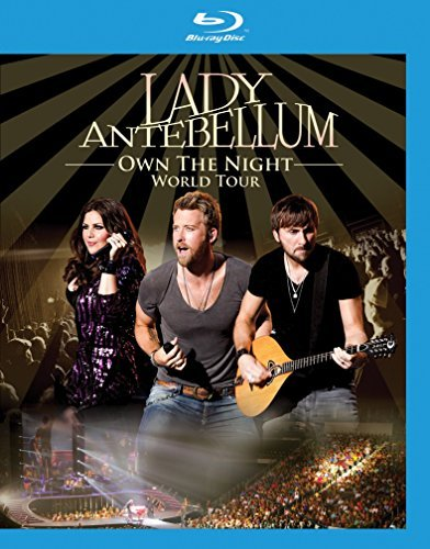 Lady Antebellum Own The Night World Tour Blu Ray Nr