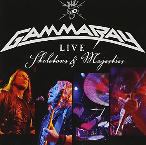 Gamma Ray Live Skeletons & Majesties (2c 2 CD