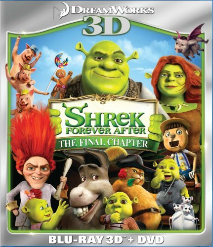 Shrek Forever After 3d Shrek Forever After 3d Blu Ray 3d Ws Pg Incl. DVD