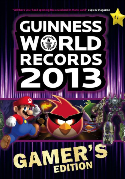 Craig Glenday Guinness World Records Gamer's Edition 2013