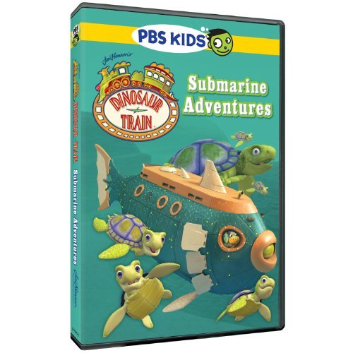 Dinosaur Train Submarine Adventures DVD Nr