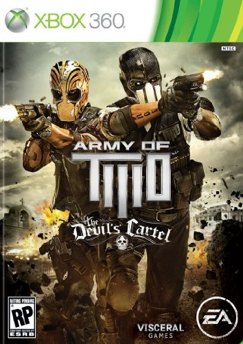 Xbox 360 Army Of Two The Devils Cartel Electronic Arts M