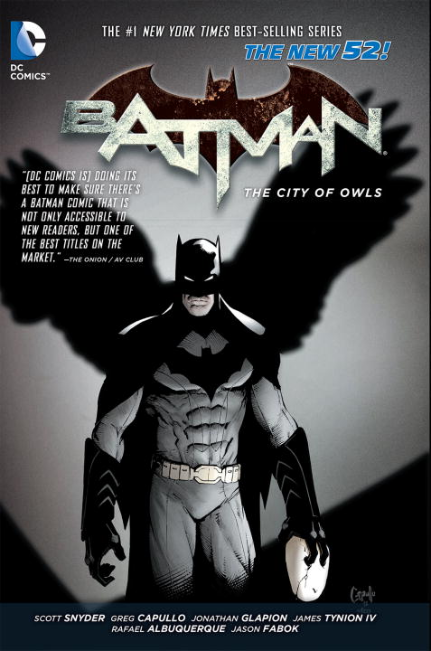 Scott Snyder Batman Vol. 2 The City Of Owls (the New 52) 0052 Edition;