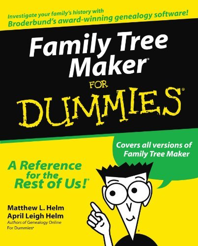 Matthew L. Helm Family Tree Maker For Dummies