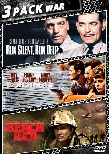 Run Silent Run Deep Beachhead Beach Red 3 Pack War