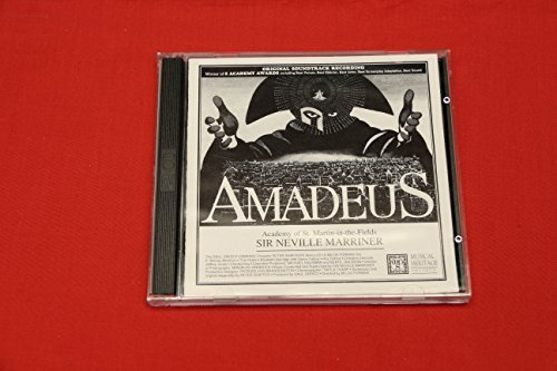 Mozart Sir Neville Marriner Academy Of St. Martin Amadeus Original Soundtrack Recoding