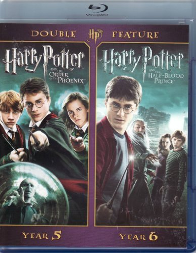 Harry Potter Double Feature Year 5 Year 6 Blu Ray