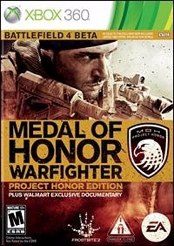 Xbox 360 Medal Of Honor Warfighter Project Honor Edition Pl Wal Mart Exclusive