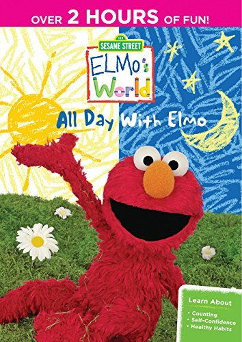 Elmo's World All Day With Elmo Sesame Street Nr