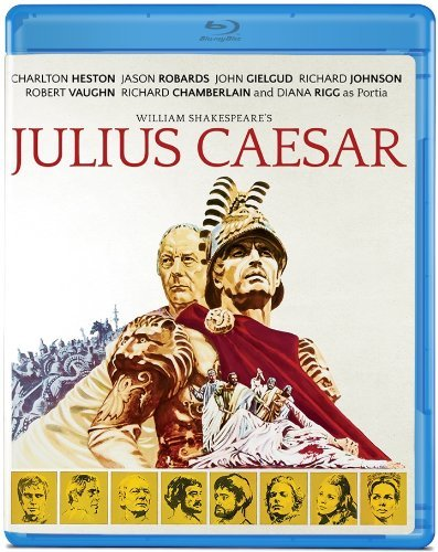 Julius Caesar (1970) Heston Robards Gielgud Blu Ray Ws R