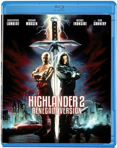 Highlander 2 Renegade Version Lambert Connery Madsen Blu Ray Ws R