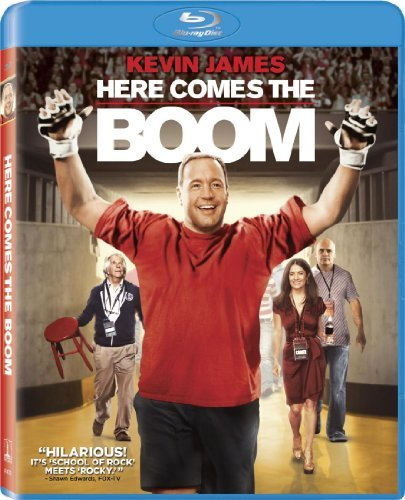 Here Comes The Boom James Winkler Hayek Blu Ray Aws Pg Incl. Uv