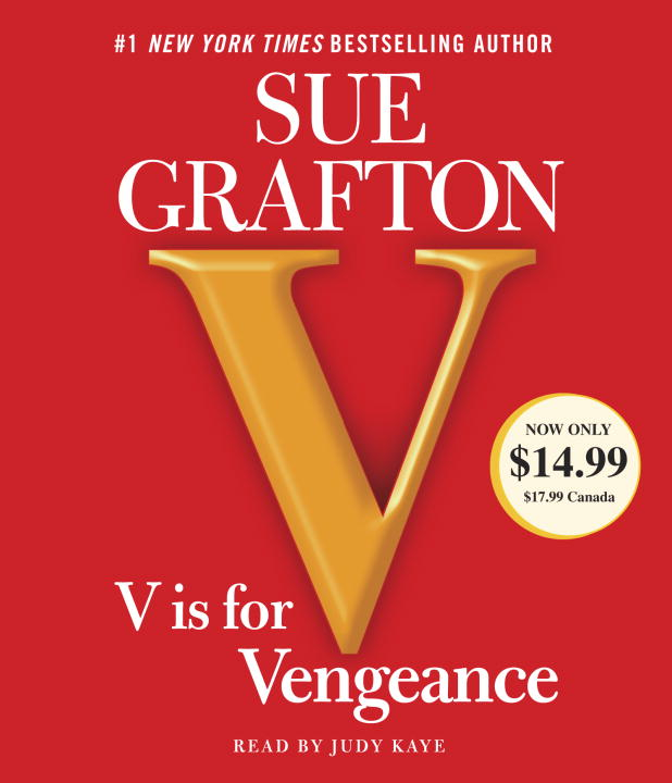 Sue Grafton V Is For Vengeance Abridged