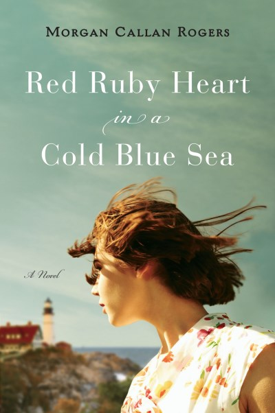 Morgan Callan Rogers Red Ruby Heart In A Cold Blue Sea