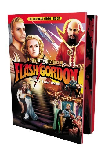Complete Adventures Of Flash Gordon Crabbe Rogers Shannon Bw Nr 4 DVD