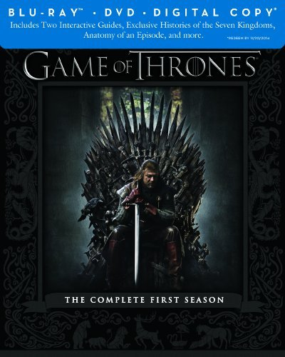 Game Of Thrones Season 1 Blu Ray DVD Dc Nr Ws