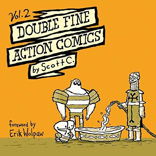 Scott C Double Fine Action Comics Volume 2