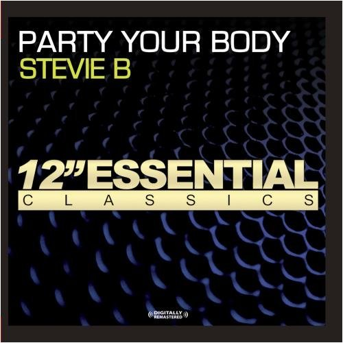 Stevie B Party Your Body CD R