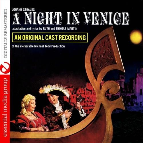 Johann Strauss Night In Venice CD R Remastered