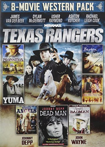 8 Movie Western Pack Texas Rangers