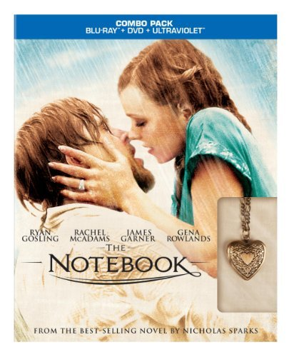 Notebook Garner Rowlands Marsden Allen Blu Ray Ws Target Exclusive Pg13 Incl. DVD Uv