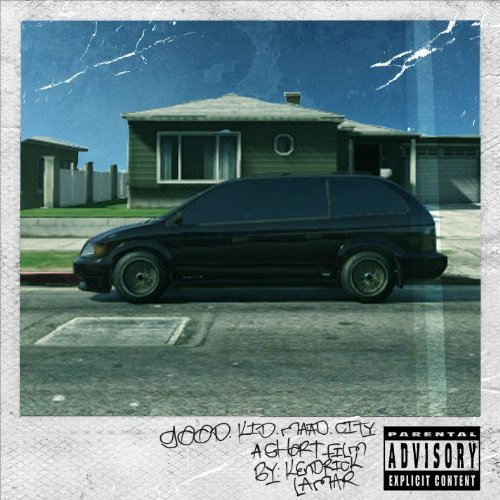 Kendrick Lamar Good Kid M.A.A.D City Explicit Version 2 Lp