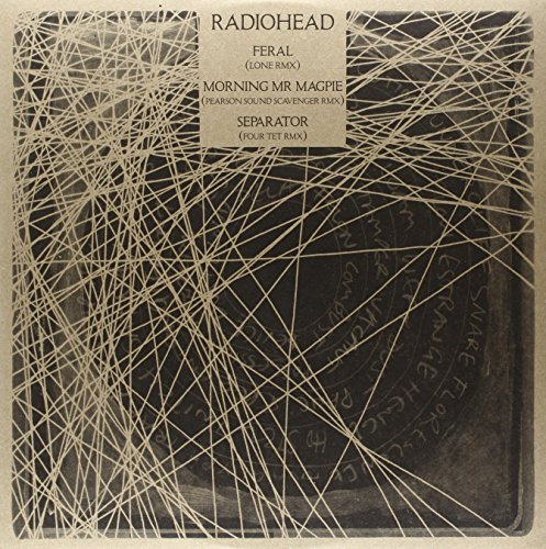 Radiohead Feral B W Morning Mr Magpie Ltd. To 2000 Copies