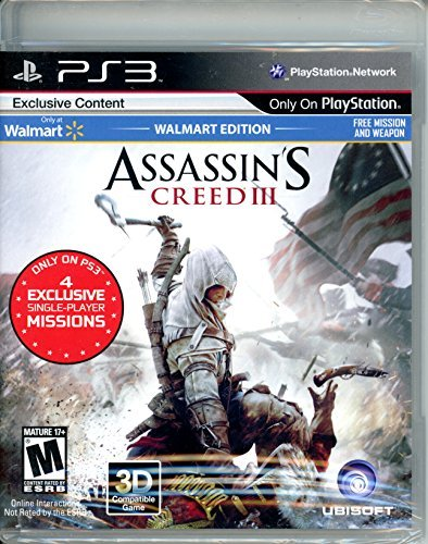 Ps3 Assassin's Creed 3 Walmart Edition