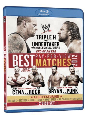 Wwe Best Pay Per View Matches 2012 Blu Ray Ws Tvpg 2 Br