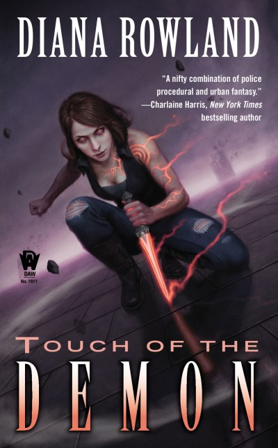 Diana Rowland Touch Of The Demon Demon Novels Book Five