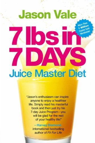Jason Vale 7 Lbs In 7 Days Juice Master Diet Updated