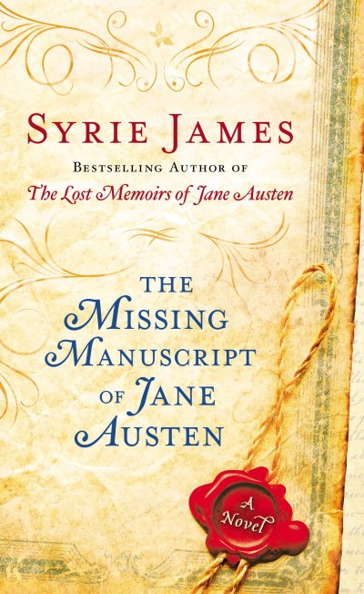 Syrie James The Missing Manuscript Of Jane Austen