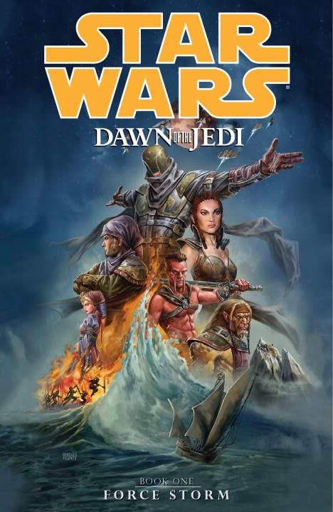 John Ostrander Star Wars Dawn Of The Jedi Volume 1 Force Storm