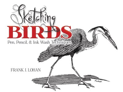 Frank J. Lohan Sketching Birds Pen Pencil And Ink Wash Techniques