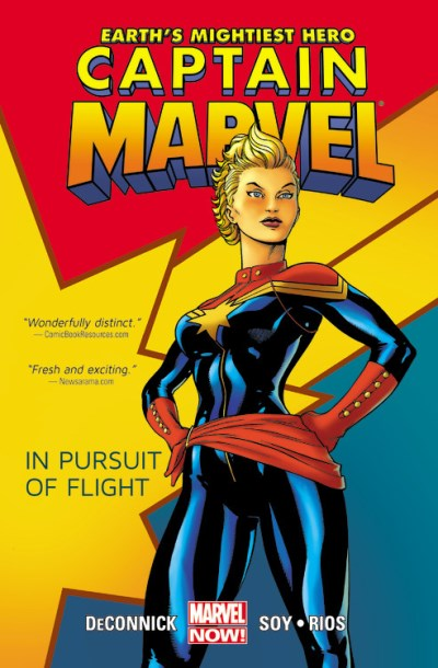 Kelly Sue Deconnick Captain Marvel Volume 1 In Pursuit Of Flight (marvel Now)
