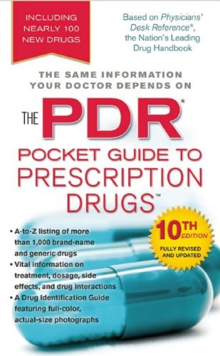 Physicians Desk Reference The Pdr Pocket Guide To Prescription Drugs 0010 Edition;revised Update