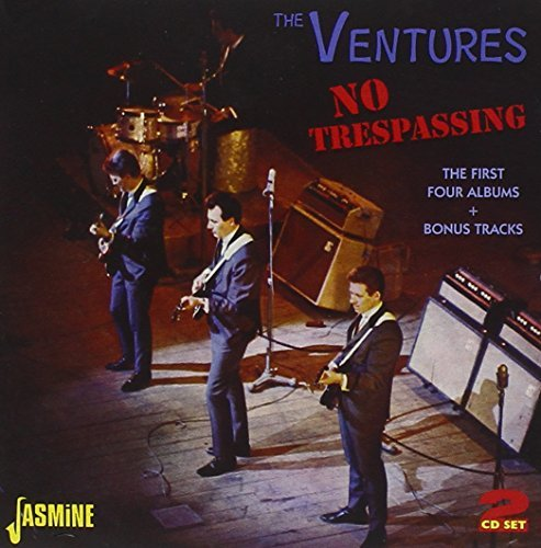 Ventures No Trespassing First Four Alb Import Gbr 2 CD
